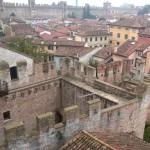 Cittadella - Lo splendido panorama del centro