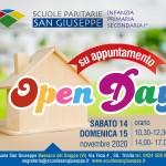 Volantino Open Day novembre 2020