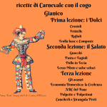 ricette di Carnevale con il cogo Gianico (1)